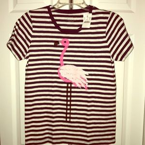 J. Crew Collector Tees Flamingo SS T-shirt